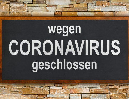 CORONA-Virus Hysterie- Unternehmen in Not