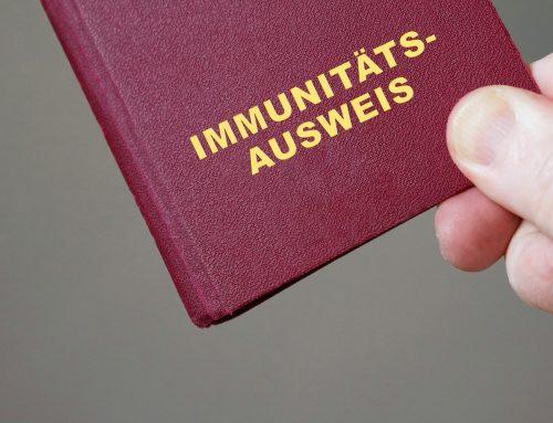 """Kurzgutachten zum geplanten """"Corona-Immunitätsausweis"""""""