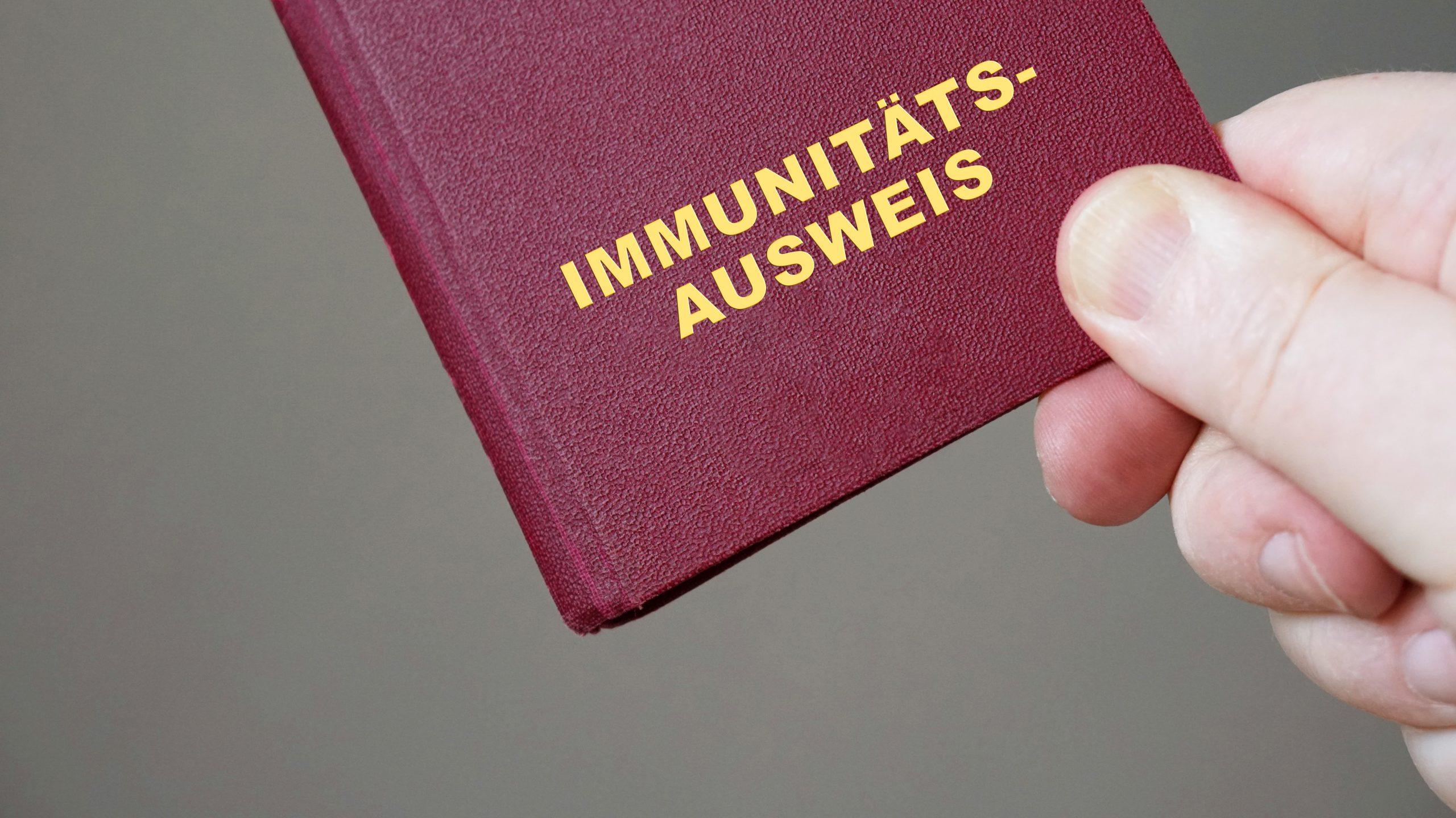 Corona Immunitätsausweis